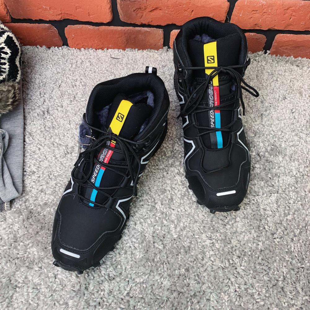Мужские ботинки зимние - Зимние ботинки  (на меху)  мужские Salomon Speedcross 3  6-032 ⏩ [ 41] 1