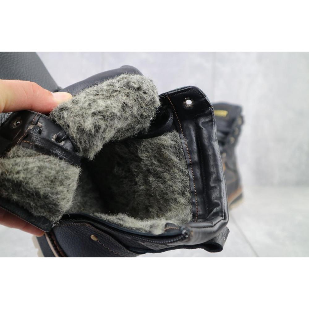 Мужские ботинки зимние - Мужские ботинки кожаные зимние черные Rivest 30 4