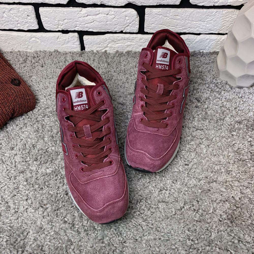 Зимние кроссовки мужские - Зимние кроссовки (на меху) мужские New Balance HM574  4-096 ⏩ [ 46<<Последний размер>> ] 2