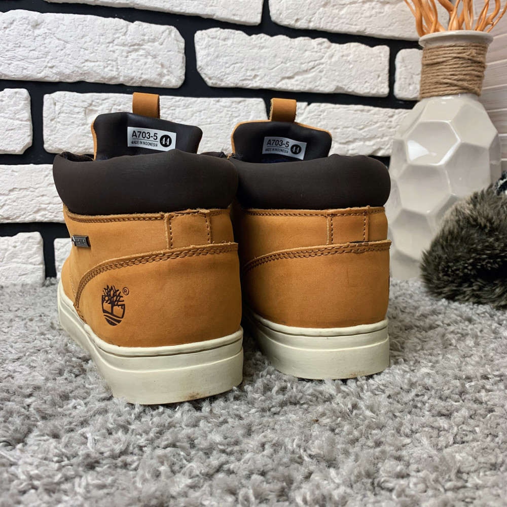 Мужские ботинки зимние - Зимние ботинки (на меху) мужские Timberland  11-070 ⏩ [ 43,45 ] 5
