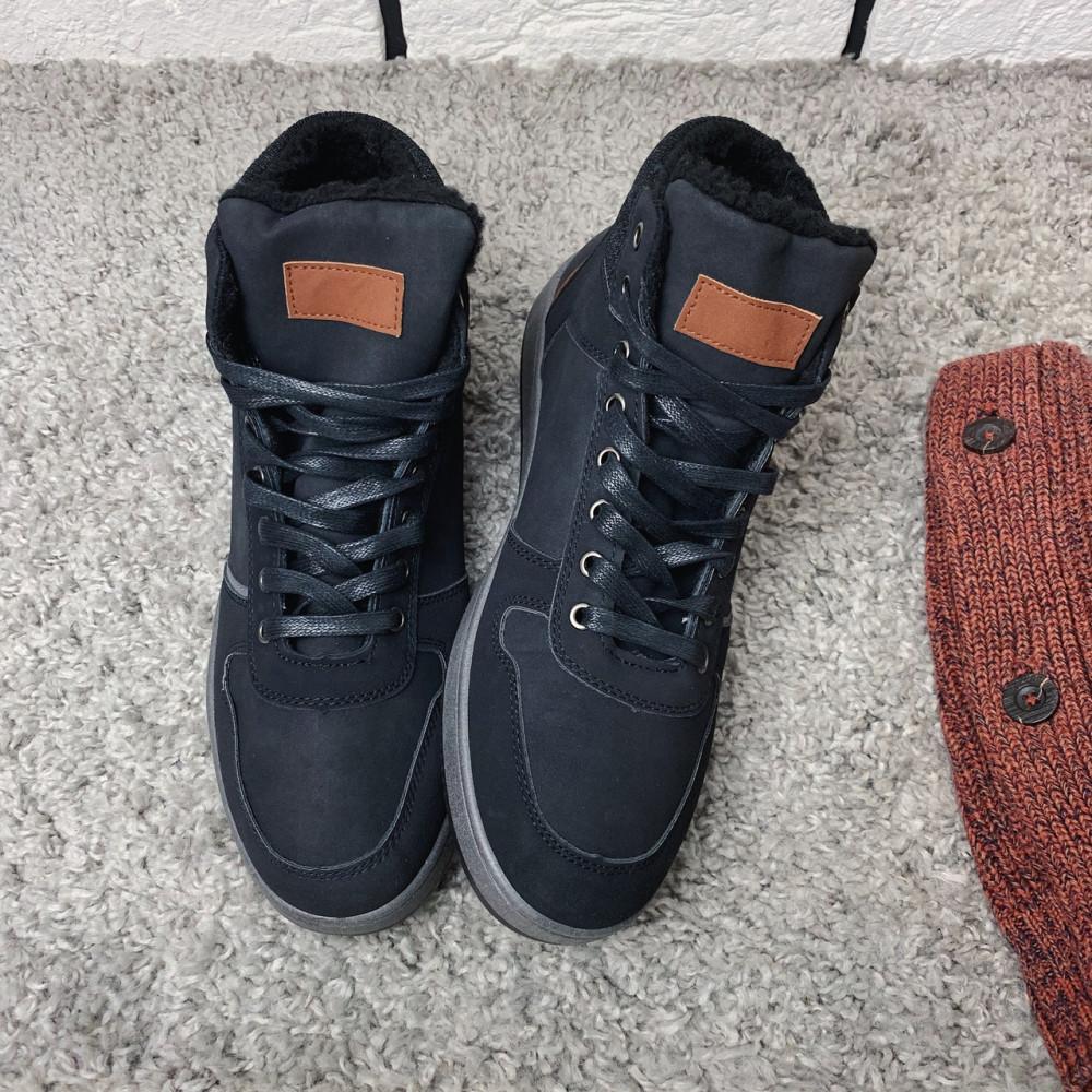 Мужские ботинки зимние - Зимние ботинки (на меху) мужские Vintage 18-074 ⏩ [ 44 ] 1