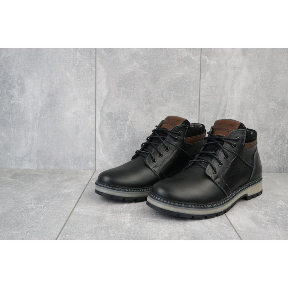 Мужские ботинки зимние - Мужские ботинки кожаные зимние черные Maxus KET 2 1