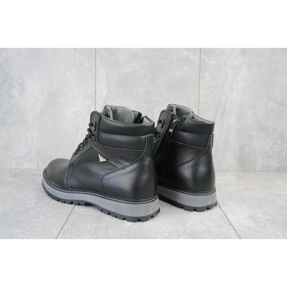 Мужские ботинки зимние - Мужские ботинки кожаные зимние черные Maxus KET 3 2