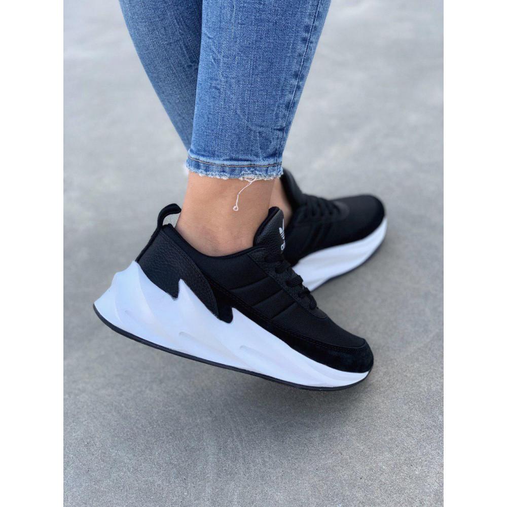 Демисезонные кроссовки мужские   - Кроссовки Adidas Shark Black White 2