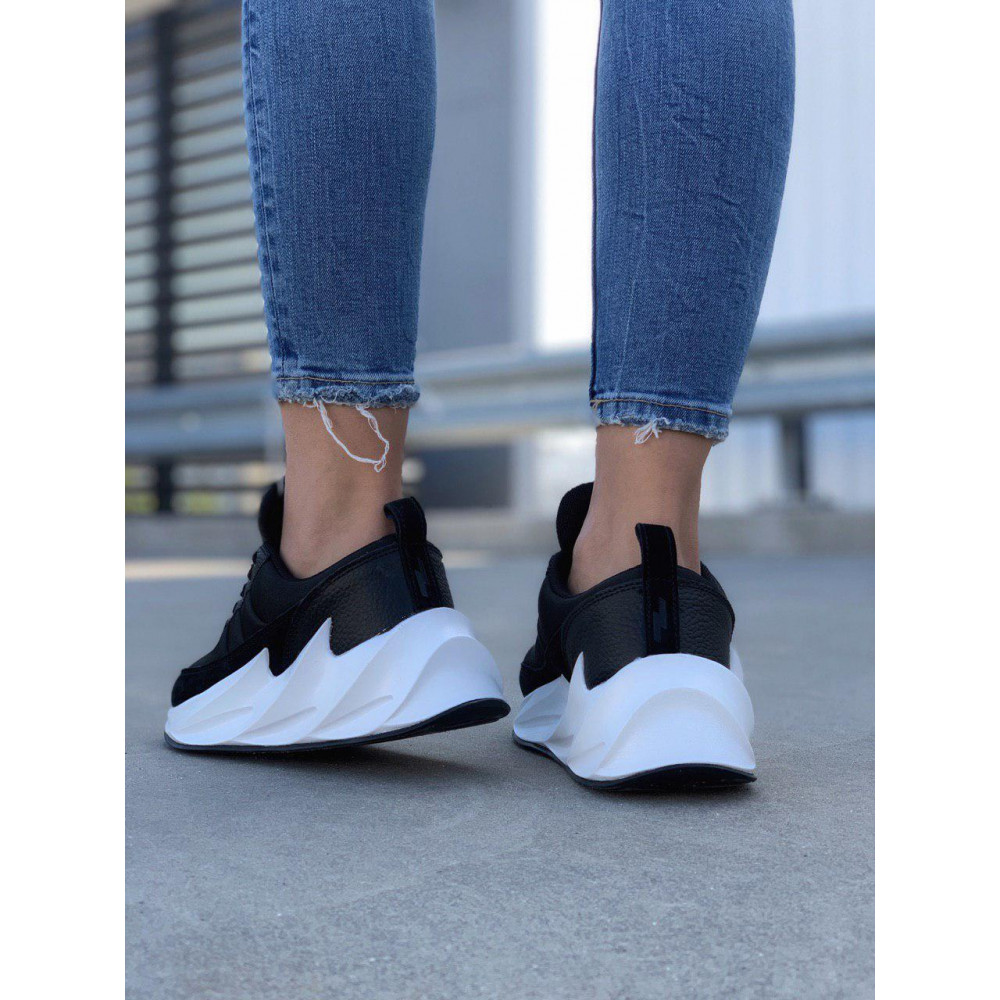 Демисезонные кроссовки мужские   - Кроссовки Adidas Shark Black White 6