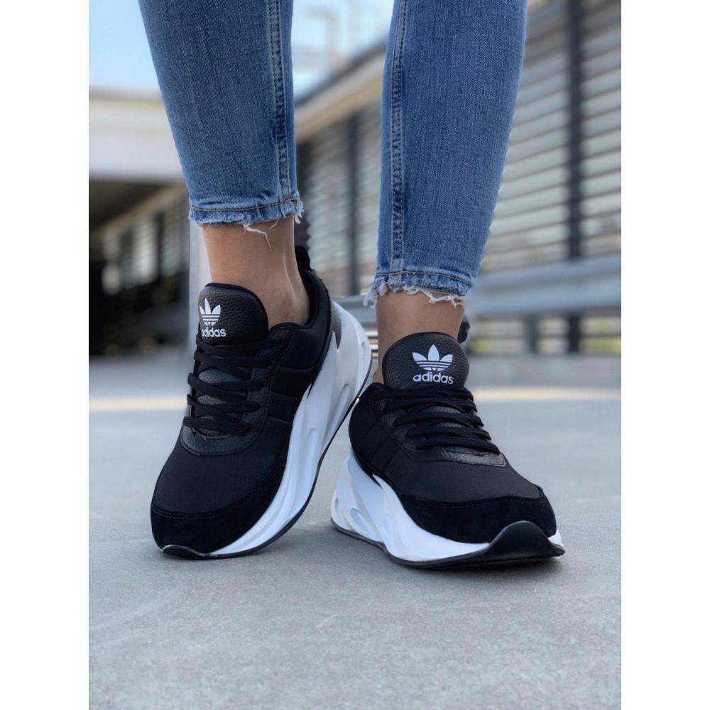 Демисезонные кроссовки мужские   - Кроссовки Adidas Shark Black White 7