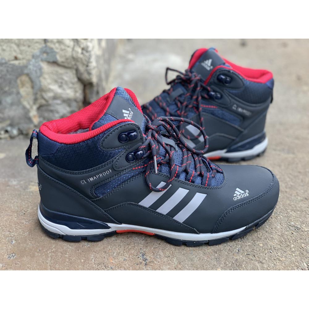 Мужские ботинки зимние - Зимние ботинки (на меху) мужские Adidas Climaproof  3-072 ⏩ [ 41,44 ] 3