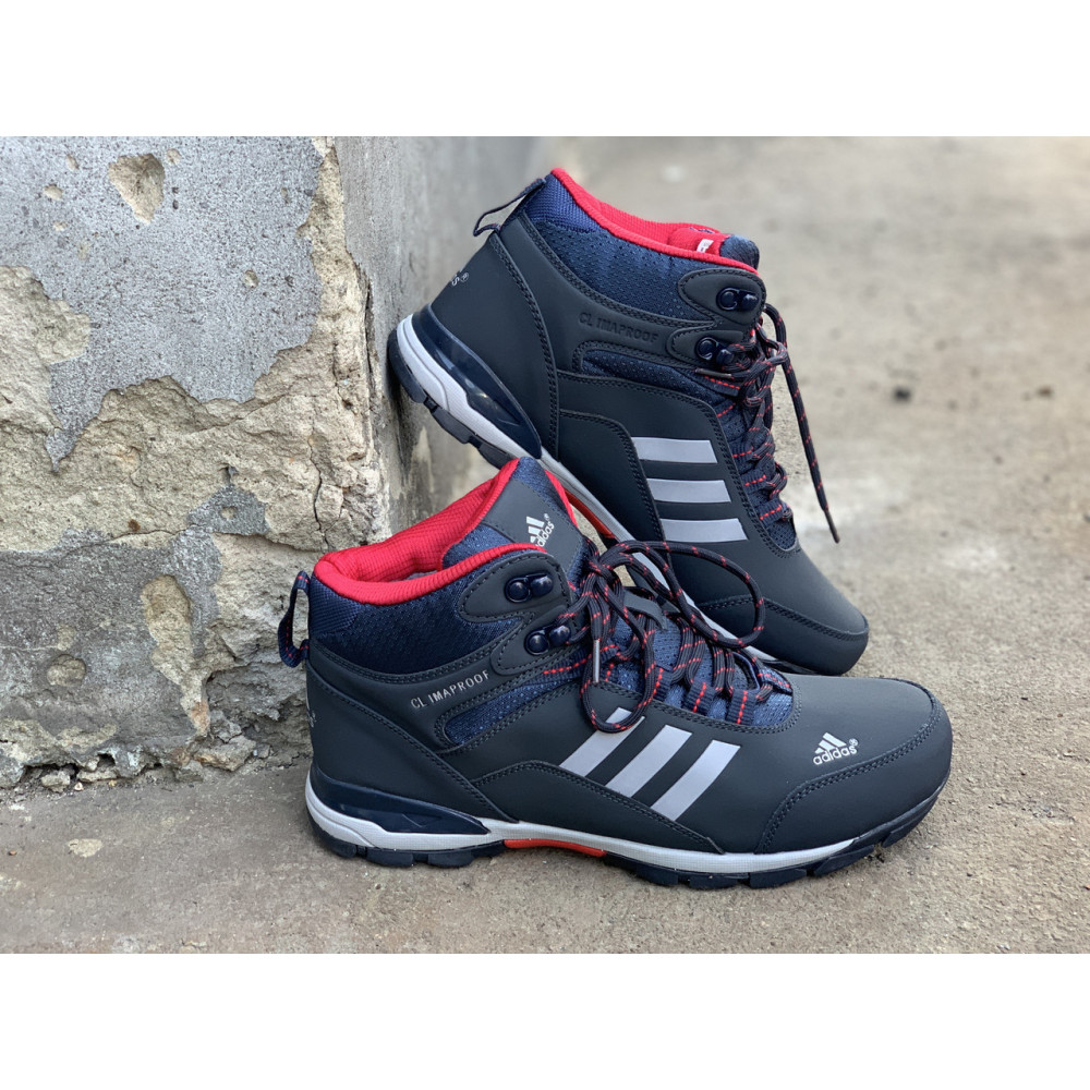Мужские ботинки зимние - Зимние ботинки (на меху) мужские Adidas Climaproof  3-072 ⏩ [ 41,44 ] 1