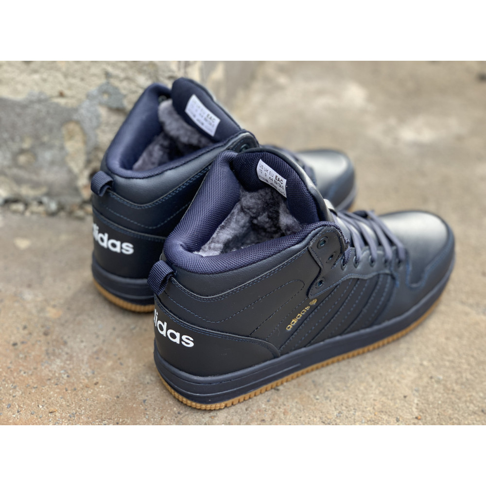 Мужские ботинки зимние - Зимние ботинки (на меху) мужские Adidas Cloudfoam  3-046 ⏩ [ 44,45 ] 4