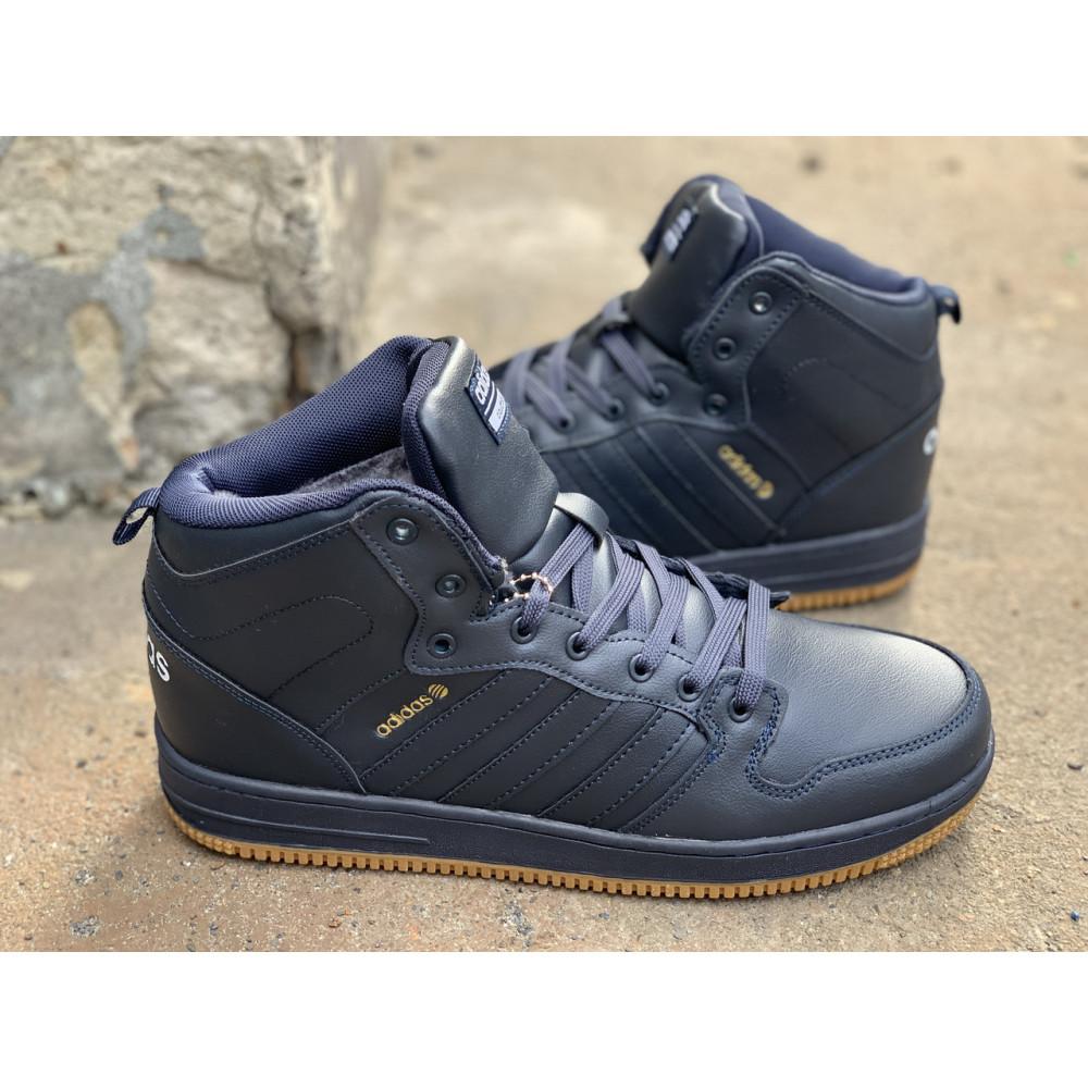 Мужские ботинки зимние - Зимние ботинки (на меху) мужские Adidas Cloudfoam  3-046 ⏩ [ 44,45 ] 3
