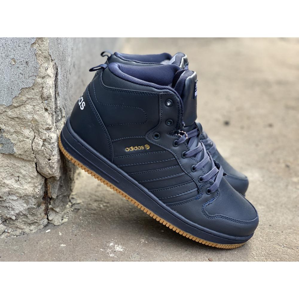 Мужские ботинки зимние - Зимние ботинки (на меху) мужские Adidas Cloudfoam  3-046 ⏩ [ 44,45 ]
