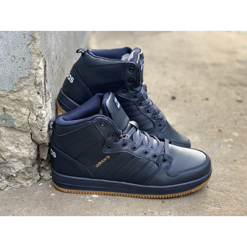 Мужские ботинки зимние - Зимние ботинки (на меху) мужские Adidas Cloudfoam  3-046 ⏩ [ 44,45 ] 2