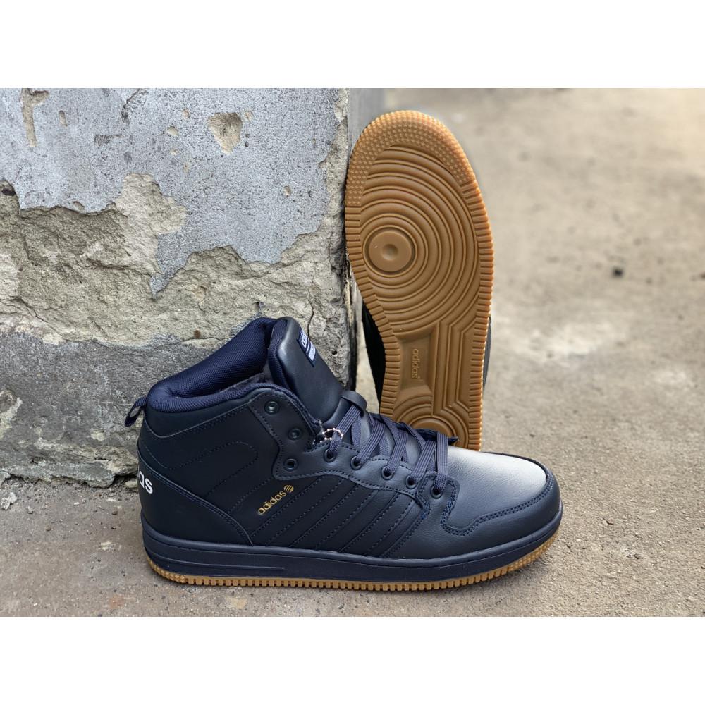 Мужские ботинки зимние - Зимние ботинки (на меху) мужские Adidas Cloudfoam  3-046 ⏩ [ 44,45 ] 1