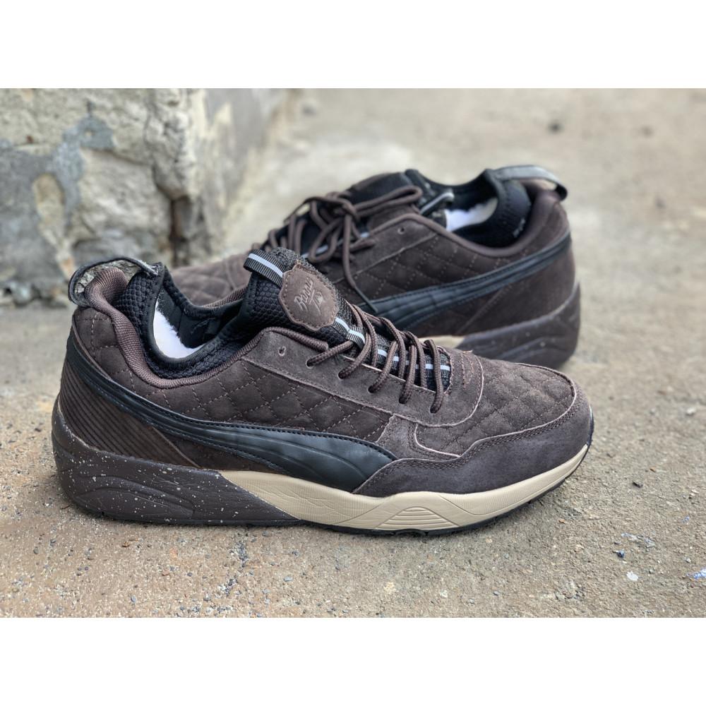 Мужские ботинки демисезонные - Ботинки мужские Puma Trinomic  7-051 ⏩ [ 42,43,44,45 ] 3