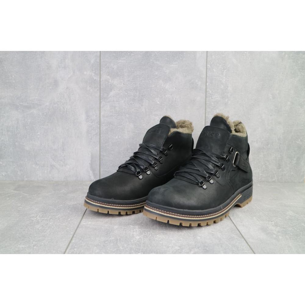 Мужские ботинки зимние - Мужские ботинки кожаные зимние черные Trike 035/M 2