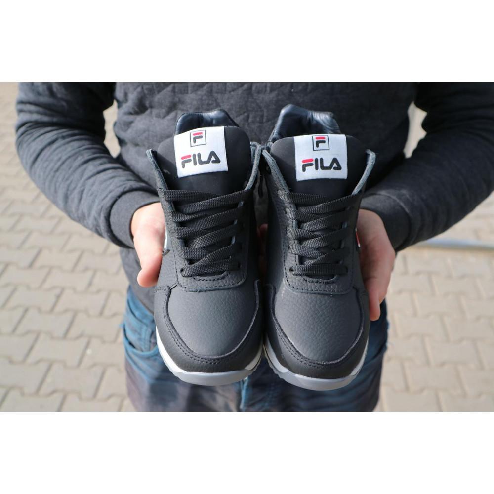Детские ботинки зимние  - Детские ботинки кожаные зимние черные CrosSav z 48 4
