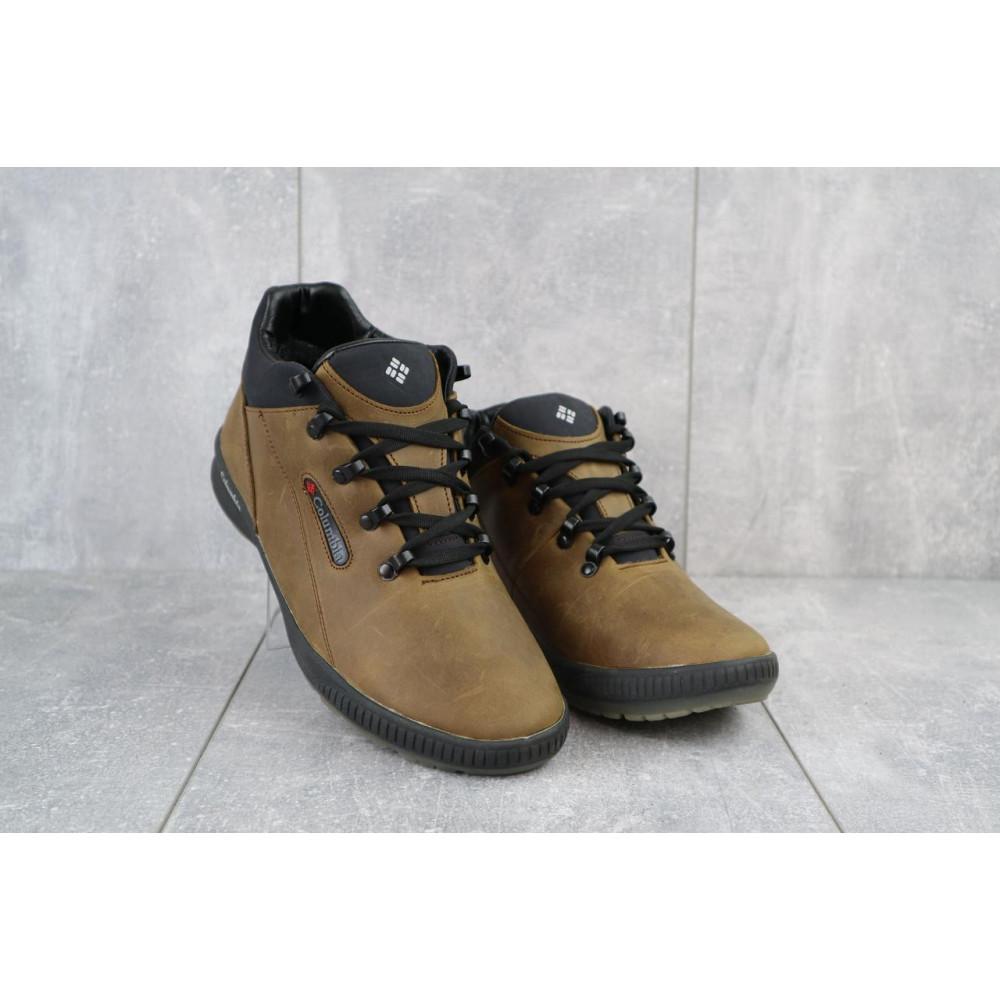 Зимние кроссовки мужские - Мужские кроссовки кожаные зимние оливковые CrosSAV 92 5