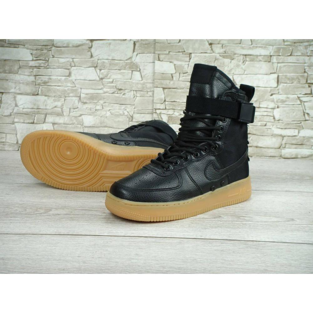 Мужские ботинки на шнуровке - Мужские кроссовки Найк Аир Форс Спешл Филд