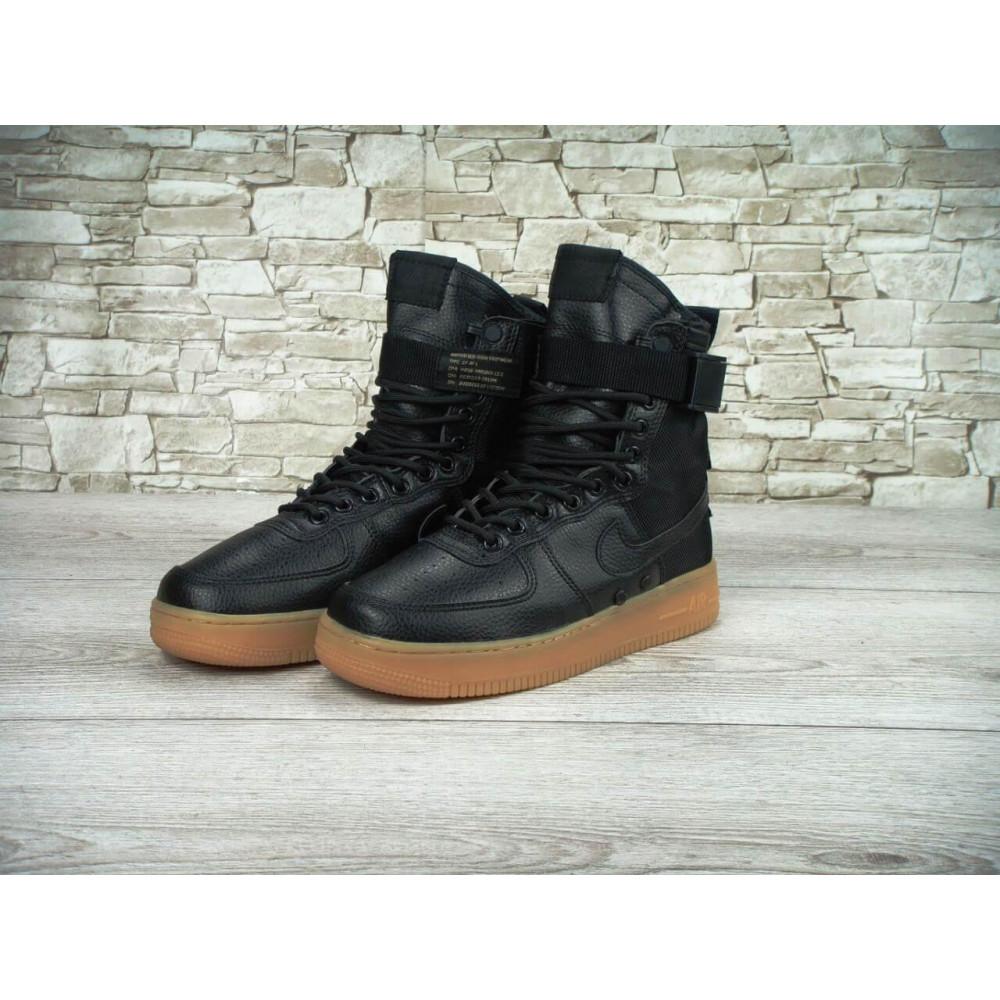 Мужские ботинки на шнуровке - Мужские кроссовки Найк Аир Форс Спешл Филд 6
