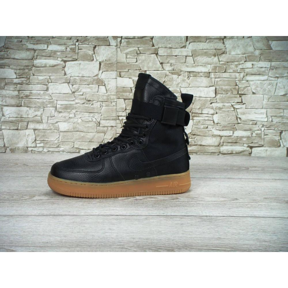 Мужские ботинки на шнуровке - Мужские кроссовки Найк Аир Форс Спешл Филд 4