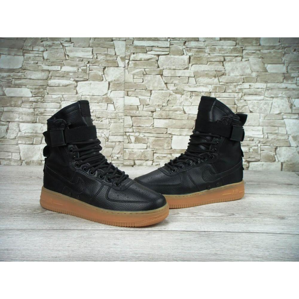 Мужские ботинки на шнуровке - Мужские кроссовки Найк Аир Форс Спешл Филд 3