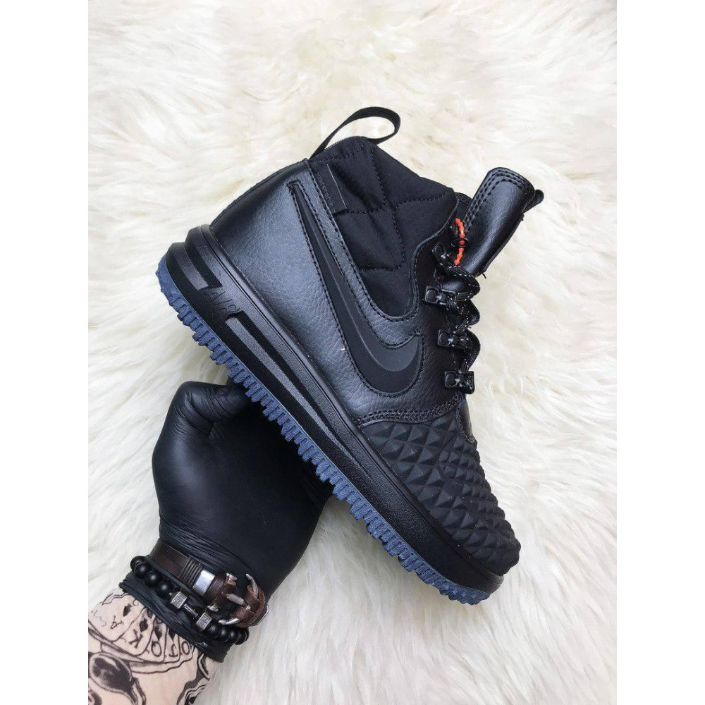 Мужские ботинки демисезонные - Мужские ботинки Найк Лунар Форс 17