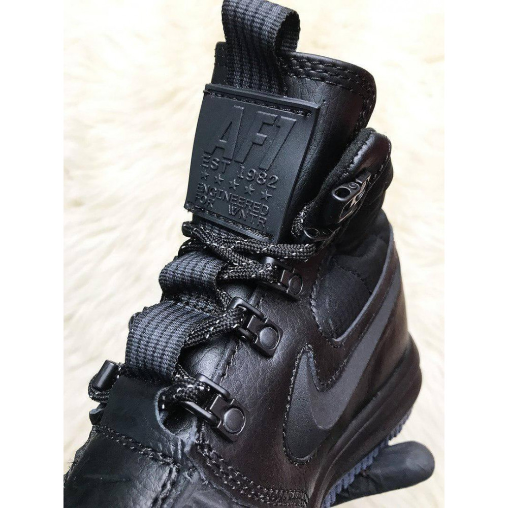 Мужские ботинки демисезонные - Мужские ботинки Найк Лунар Форс 17 4