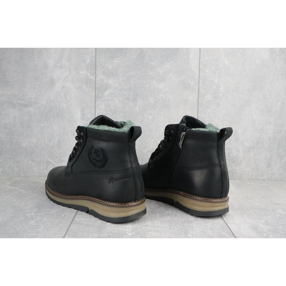 Мужские ботинки зимние - Мужские ботинки кожаные зимние черные Riccone 275 2