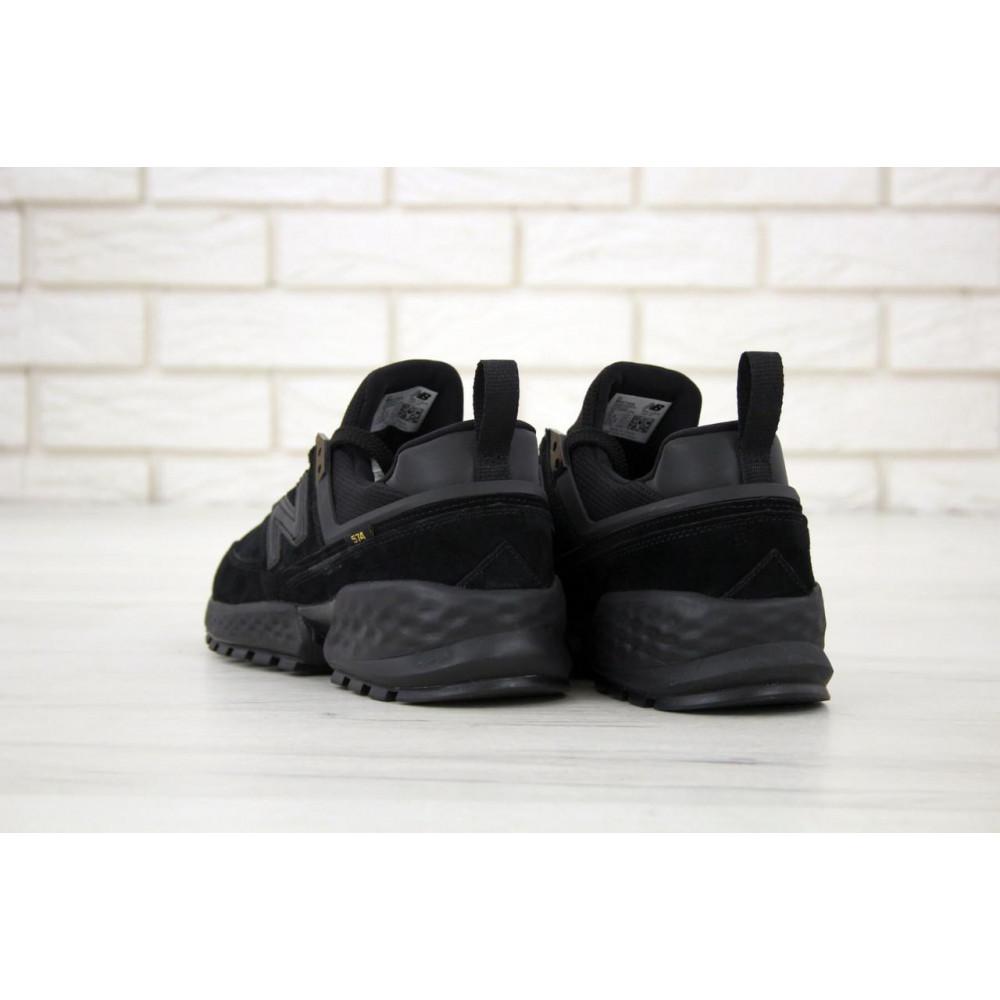 Классические кроссовки мужские - Мужские кроссовки New Balance 574 Sport V2 черного цвета 5