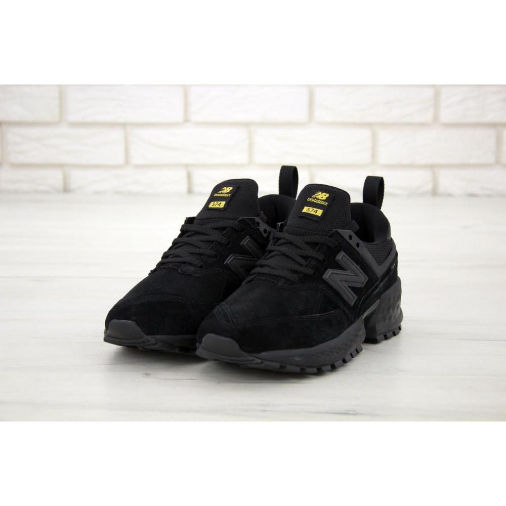 Классические кроссовки мужские - Мужские кроссовки New Balance 574 Sport V2 черного цвета 3