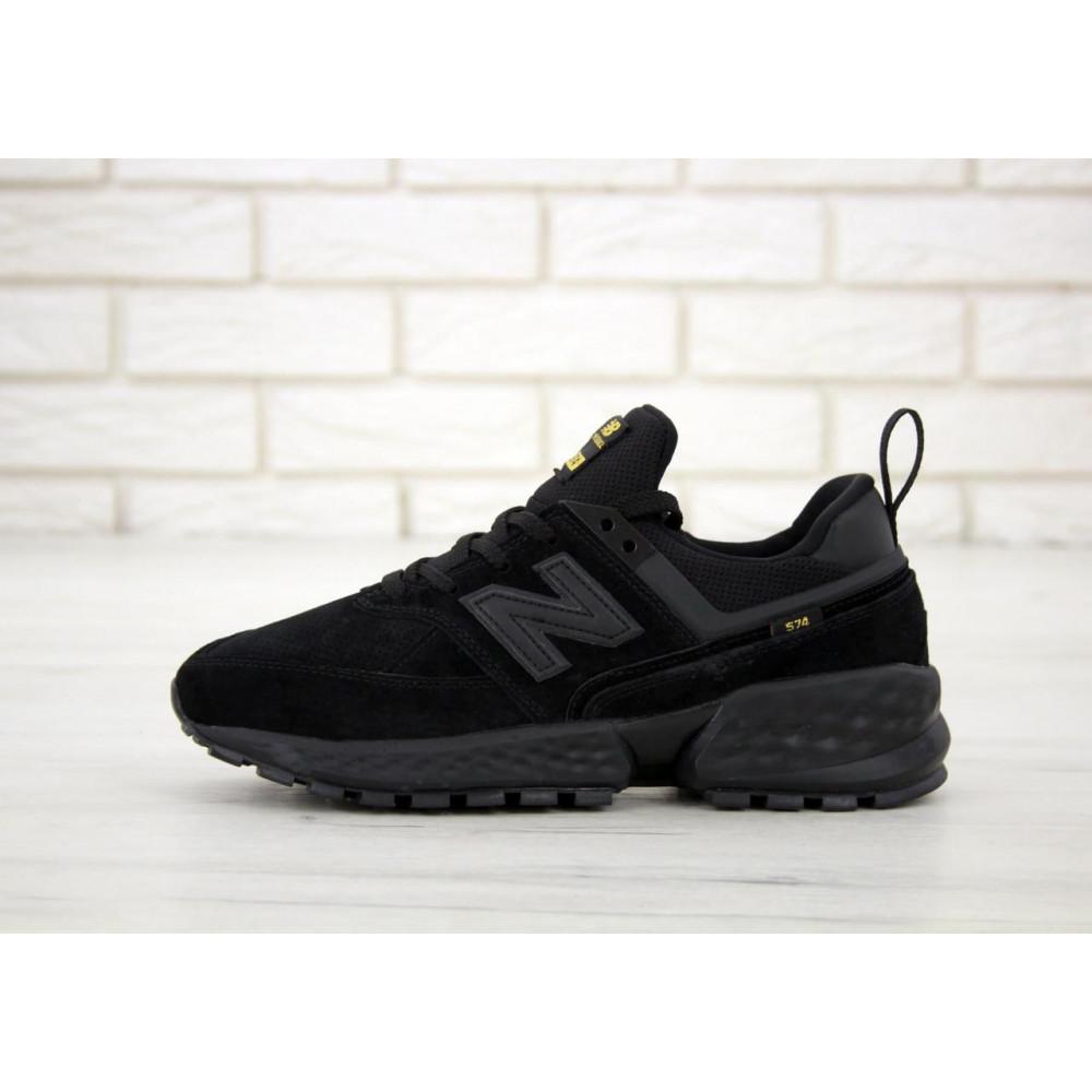 Классические кроссовки мужские - Мужские кроссовки New Balance 574 Sport V2 черного цвета 1