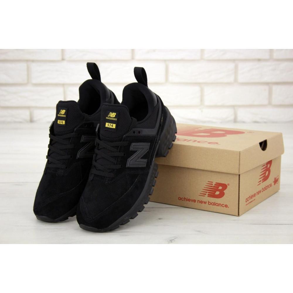 Классические кроссовки мужские - Мужские кроссовки New Balance 574 Sport V2 черного цвета