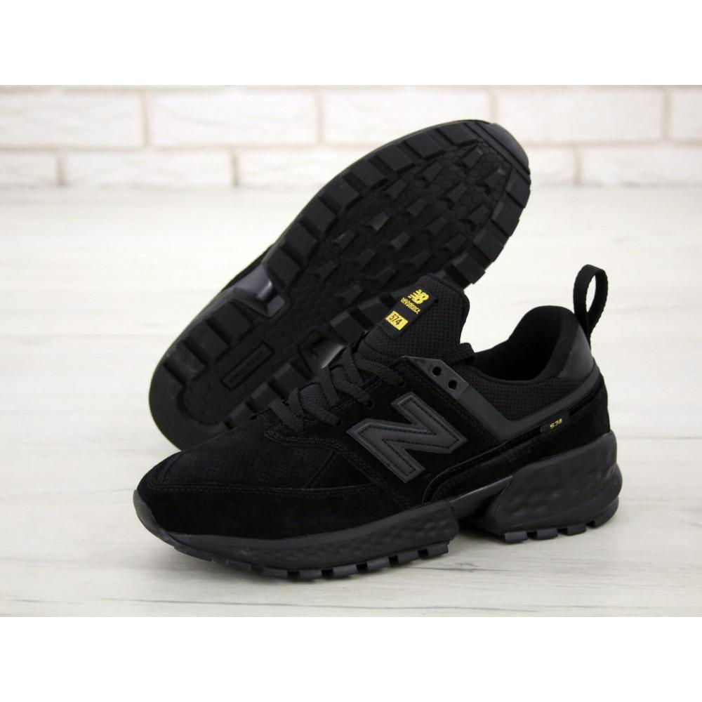 Классические кроссовки мужские - Мужские кроссовки New Balance 574 Sport V2 черного цвета 2