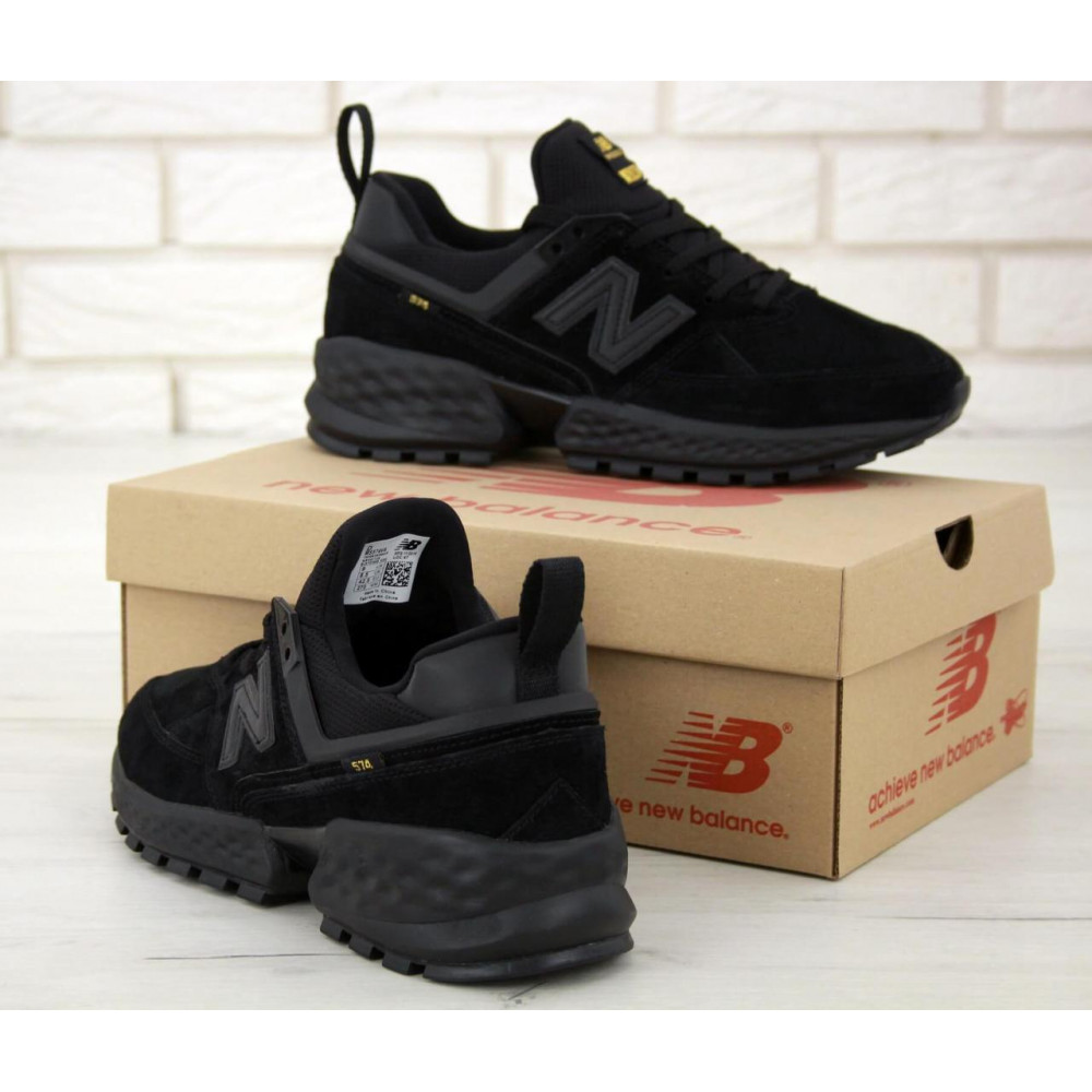 Классические кроссовки мужские - Мужские кроссовки New Balance 574 Sport V2 черного цвета 4