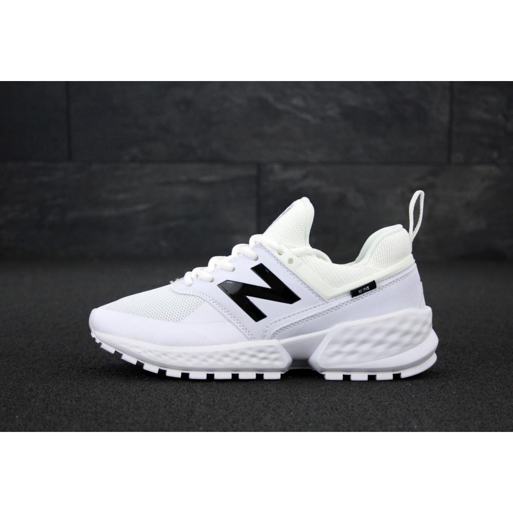 Классические кроссовки мужские - Мужские кроссовки New Balance 574 Sport V2 белого цвета 3