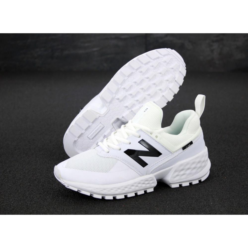 Классические кроссовки мужские - Мужские кроссовки New Balance 574 Sport V2 белого цвета 1