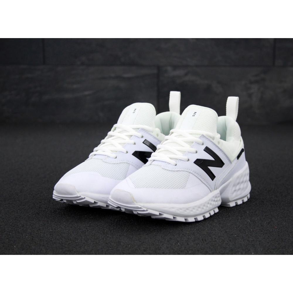 Классические кроссовки мужские - Мужские кроссовки New Balance 574 Sport V2 белого цвета 2
