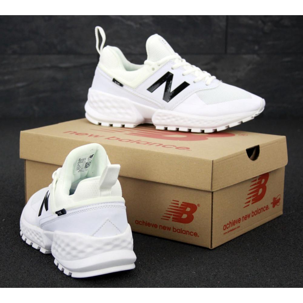 Классические кроссовки мужские - Мужские кроссовки New Balance 574 Sport V2 белого цвета 4