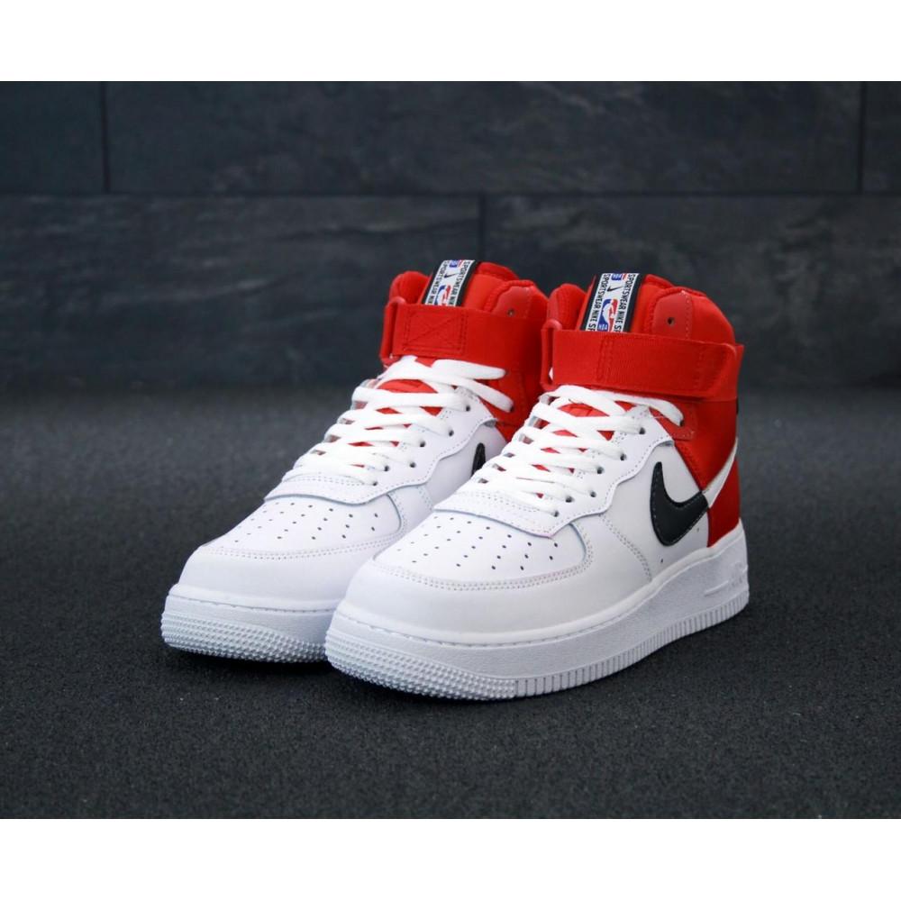 Демисезонные кроссовки мужские   - Мужские кроссовки Air Force 1 Mid NBA 2