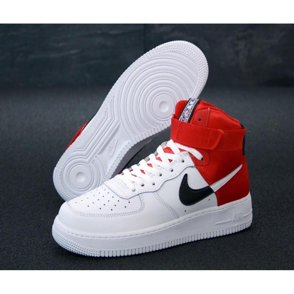 Демисезонные кроссовки мужские   - Мужские кроссовки Air Force 1 Mid NBA 3