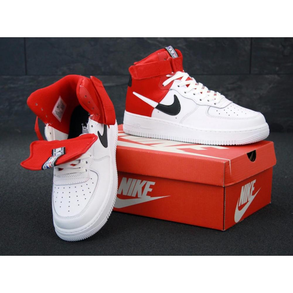 Демисезонные кроссовки мужские   - Мужские кроссовки Air Force 1 Mid NBA 4