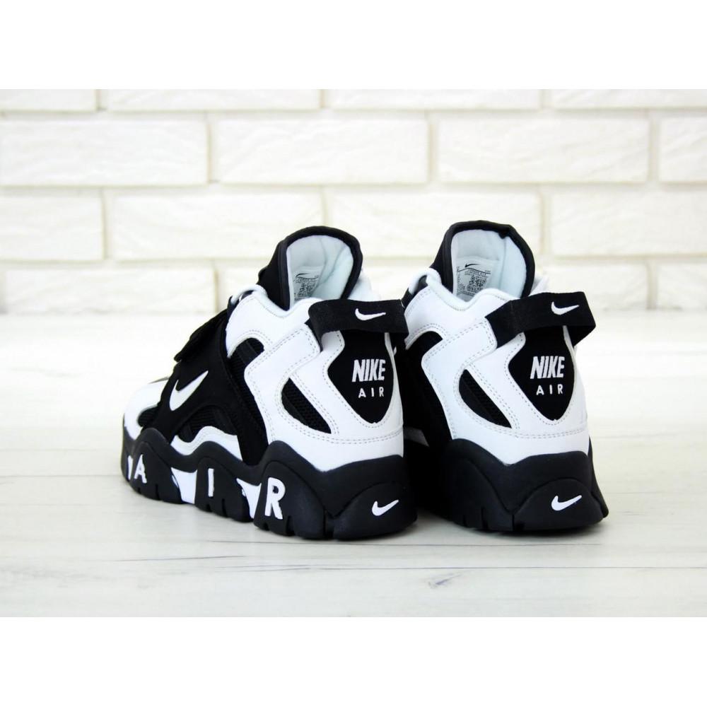Демисезонные кроссовки мужские   - Мужские высокие кроссовки Air Barrage Mid Black 5