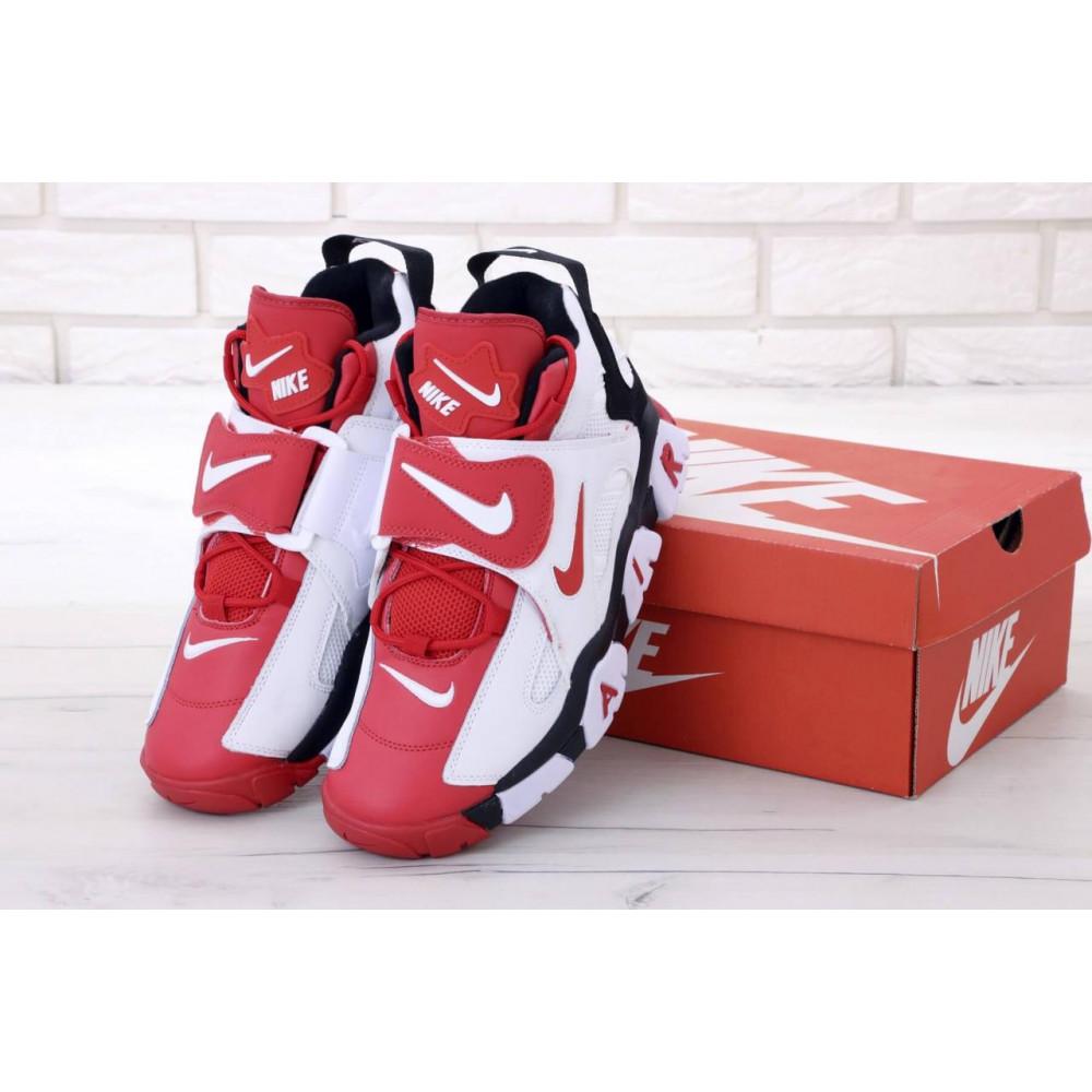 Демисезонные кроссовки мужские   - Мужские высокие кроссовки Air Barrage Mid Red