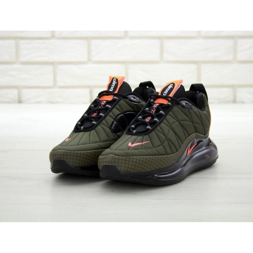 Демисезонные кроссовки мужские   - Мужские кроссовки Air Max 720 818 цвет хаки 3
