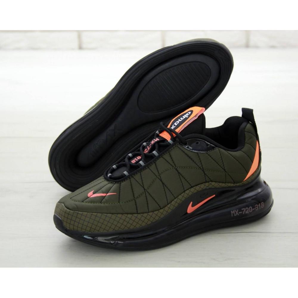 Демисезонные кроссовки мужские   - Мужские кроссовки Air Max 720 818 цвет хаки 2