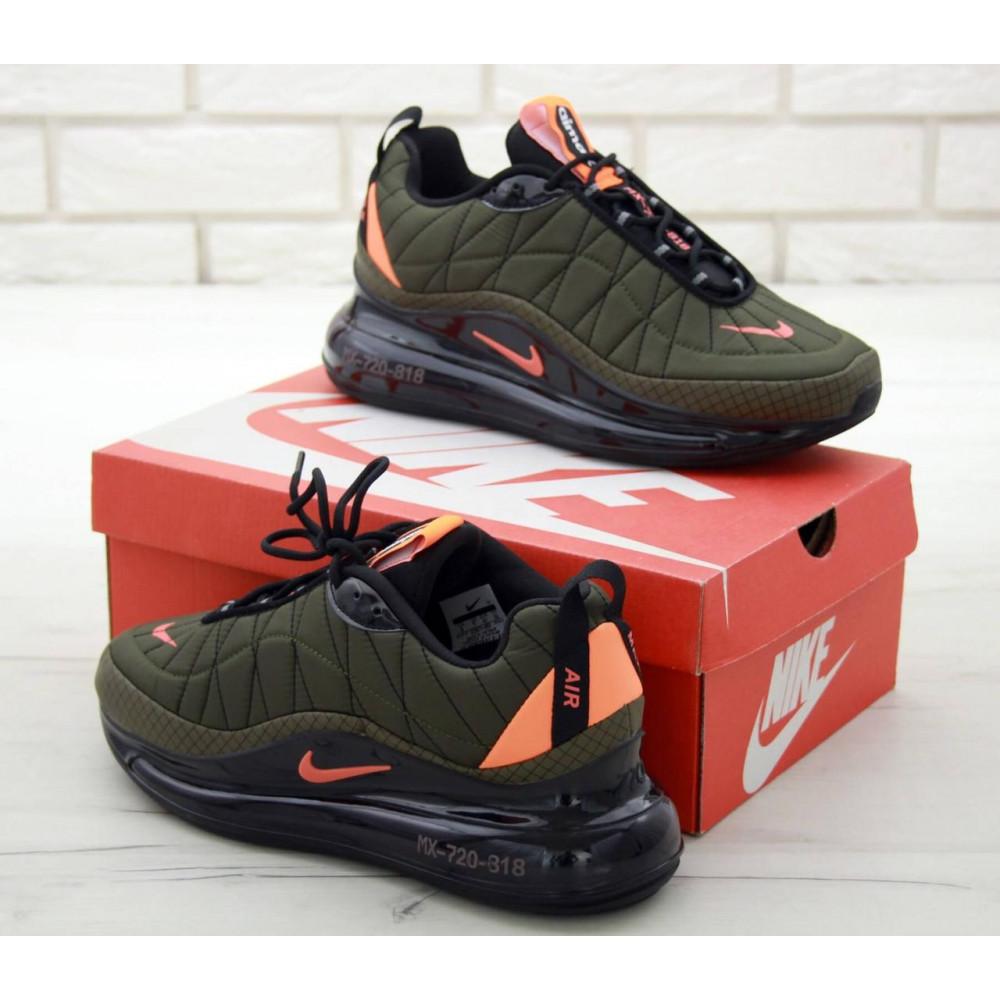 Демисезонные кроссовки мужские   - Мужские кроссовки Air Max 720 818 цвет хаки 4