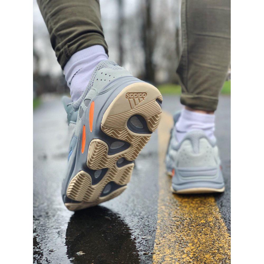 Демисезонные кроссовки мужские   - Кроссовки натуральная кожа Adidas Yeezy Boost 700 Адидас Изи Буст (41,42,43,44,45) 8