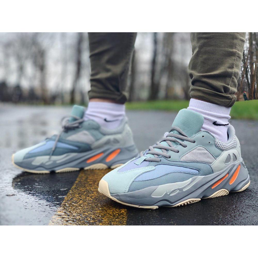 Демисезонные кроссовки мужские   - Кроссовки натуральная кожа Adidas Yeezy Boost 700 Адидас Изи Буст (41,42,43,44,45)