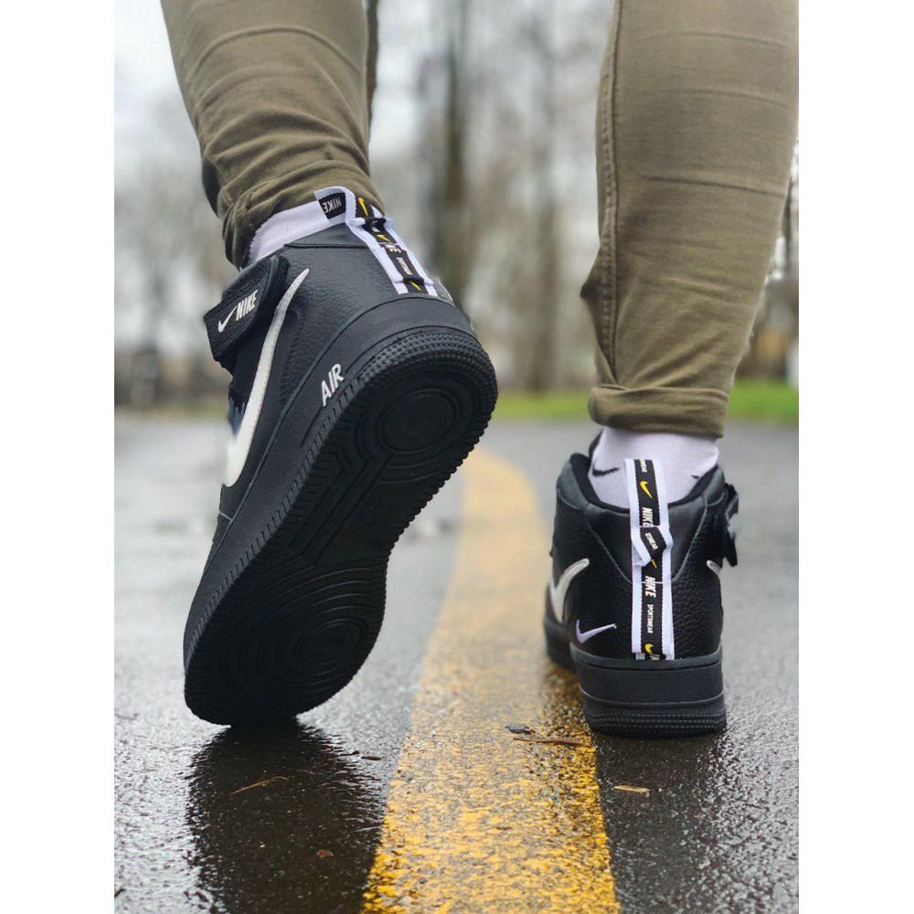 Демисезонные кроссовки мужские   - Кроссовки  высокие натуральная кожа  Nike Air Force Найк Аир Форс (40,41,42,44,45) 6