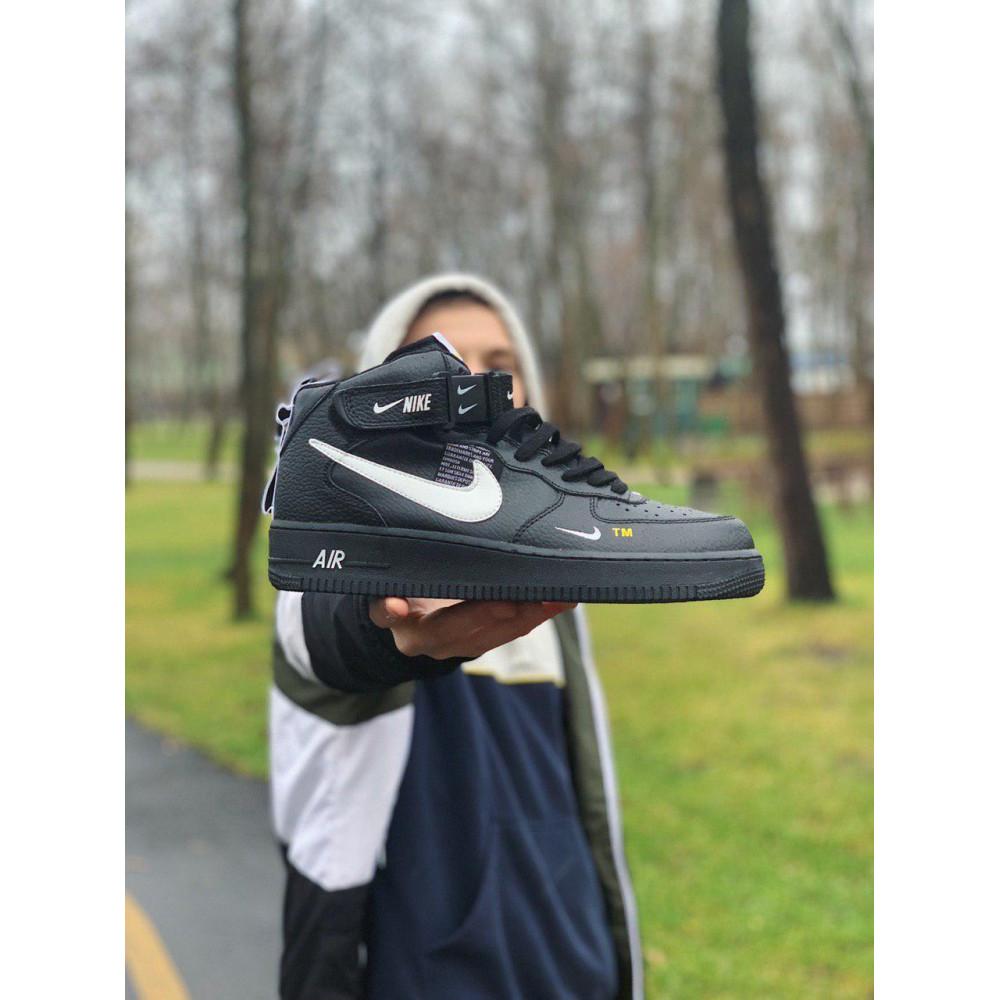 Демисезонные кроссовки мужские   - Кроссовки  высокие натуральная кожа  Nike Air Force Найк Аир Форс (40,41,42,44,45) 5